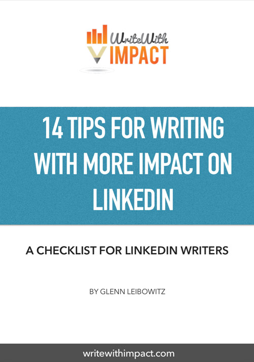 Writing with impact